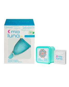 Pack Copa Menstrual MiaLuna Color + Pastillas Esterilizadoras