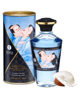 Aceite Afrodisiaco Efecto Calor Sabor Agua de Coco