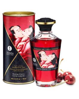 Aceite Afrodisiaco Efecto Calor Sabor Cereza