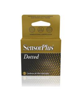 Preservativos SensorPlus Dotted