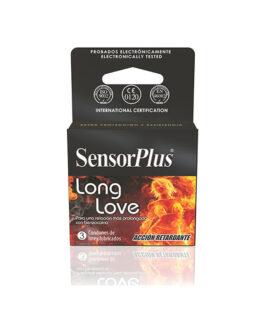 Preservativos SensorPlus Long Love